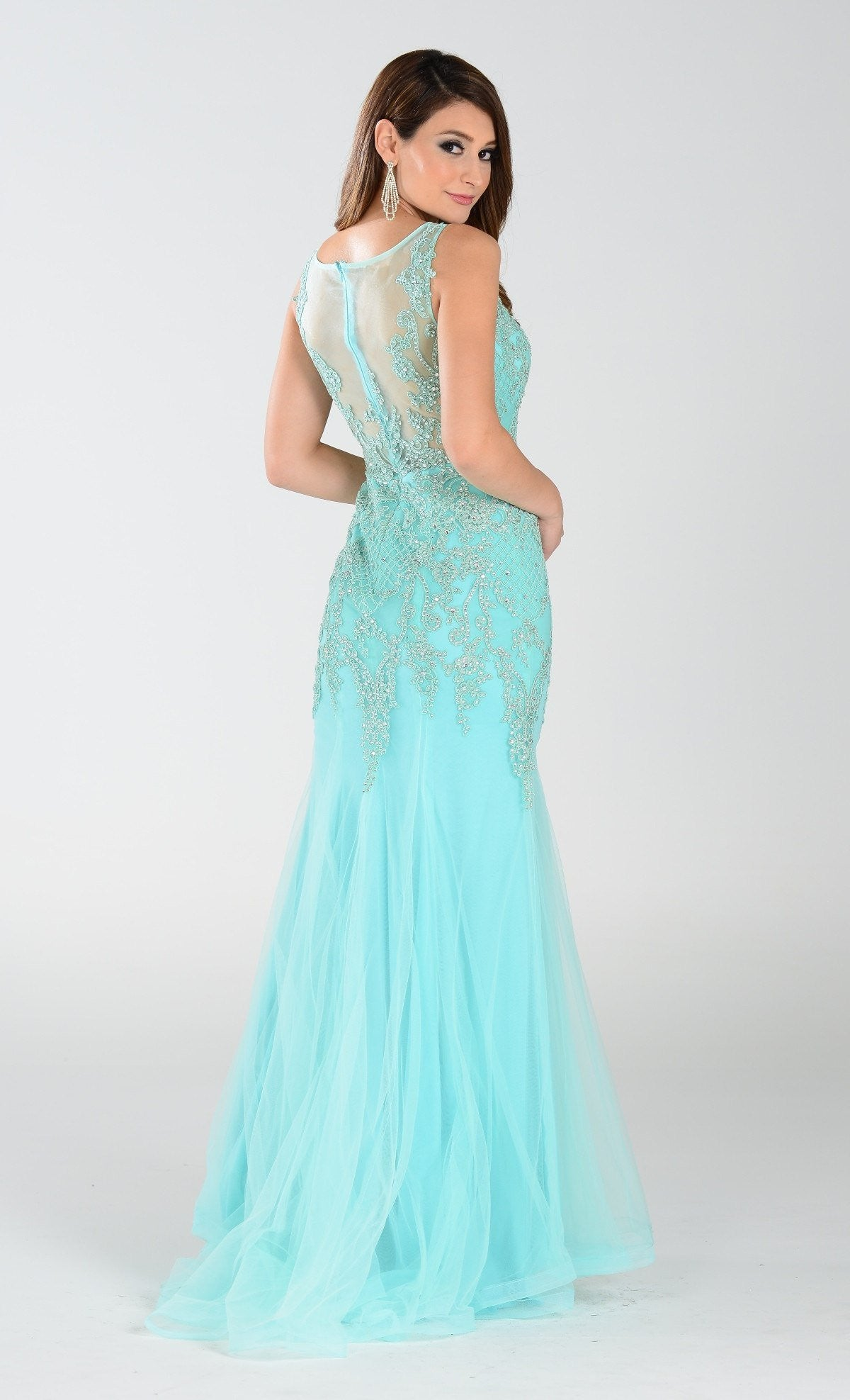 Sexy prom dresses- Mermaid Prom dress with rhinestone – Simply Fab ...