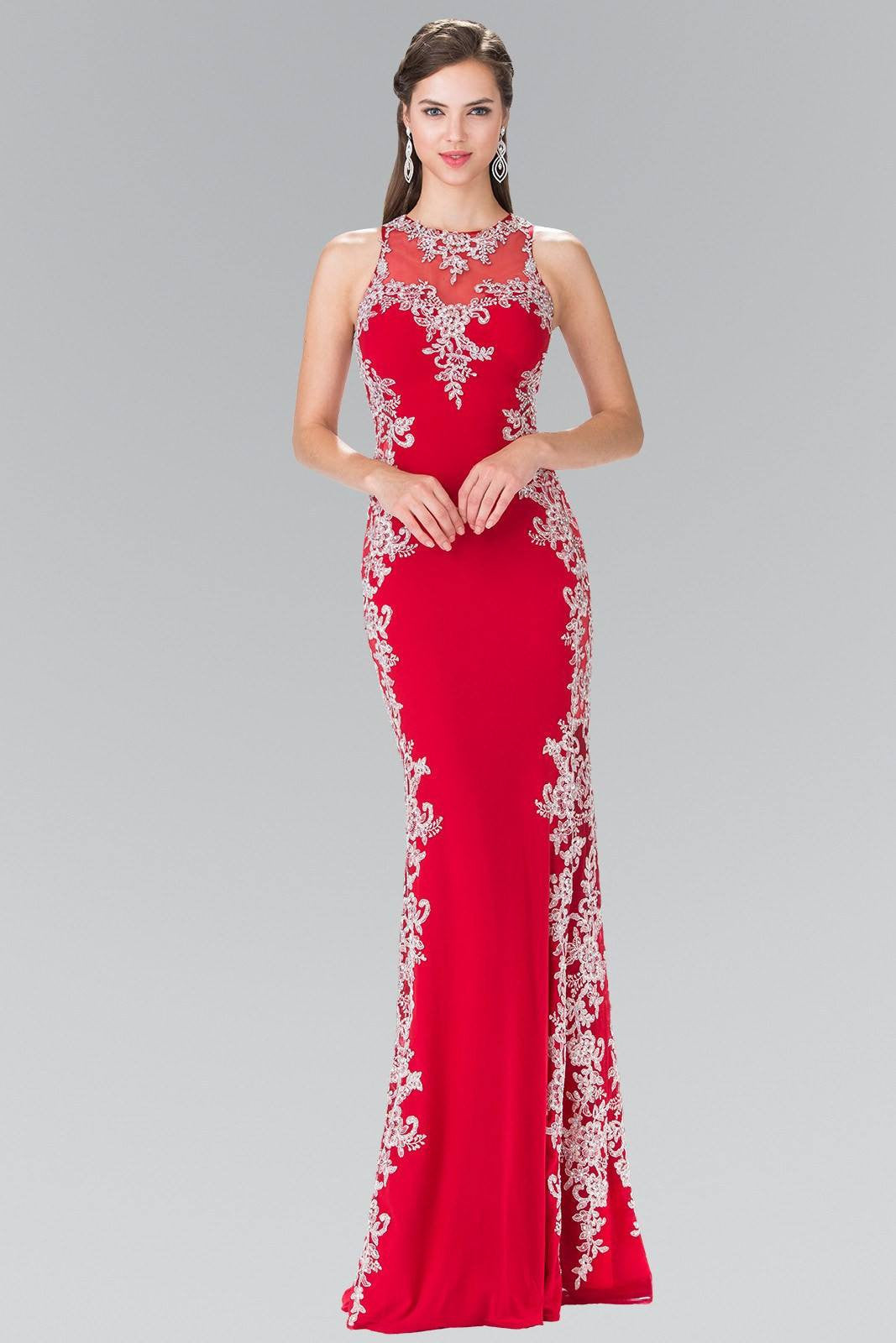 Burgundy long evening gown #GL2320 – Simply Fab Dress