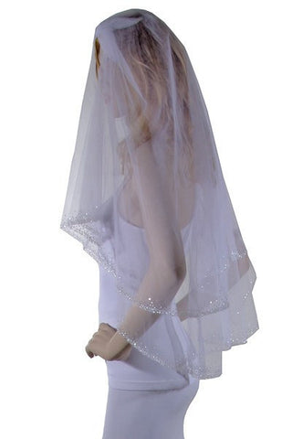 Copy of Wedding Veil  V1027-36 - Simply Fab Dress