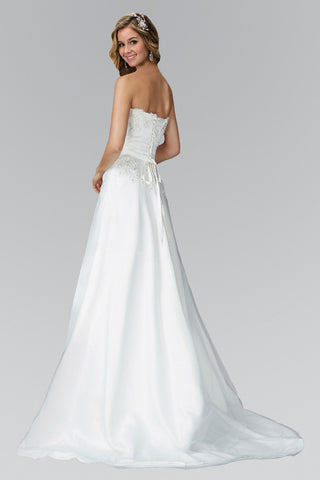 Affordable A-line Wedding Dress  gl2077 - Simply Fab Dress