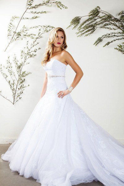 Strapless Trumpet/Mermaid Wedding Dress Affordable wedding dress - Simply Fab Dress
