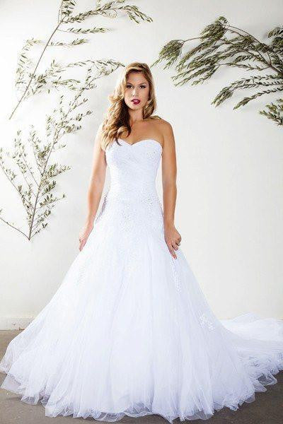 Strapless sweetheart neckline a line wedding dress mt 188 closeout stunning mermaid wedding dress mt 188 affordable wedding dress simply fab dress junglespirit Images