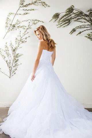 Stunning mermaid wedding dress-mt 188 Affordable wedding dress - Simply Fab Dress