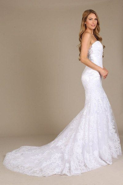 Stunning mermaid wedding dress-mt 206 Affordable wedding dress - Simply Fab Dress