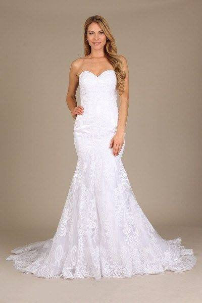 da849bdccda Stunning mermaid wedding dress-mt 206 Affordable wedding dress - Simply Fab  Dress ...