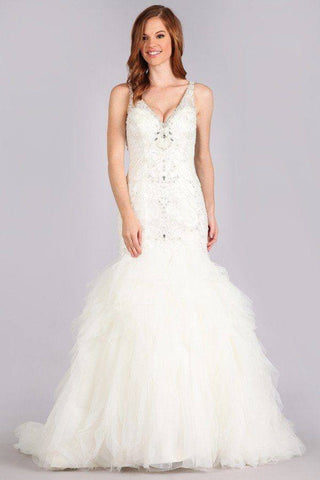 Stunning mermaid wedding dress-mt 223 Affordable wedding dress - Simply Fab Dress