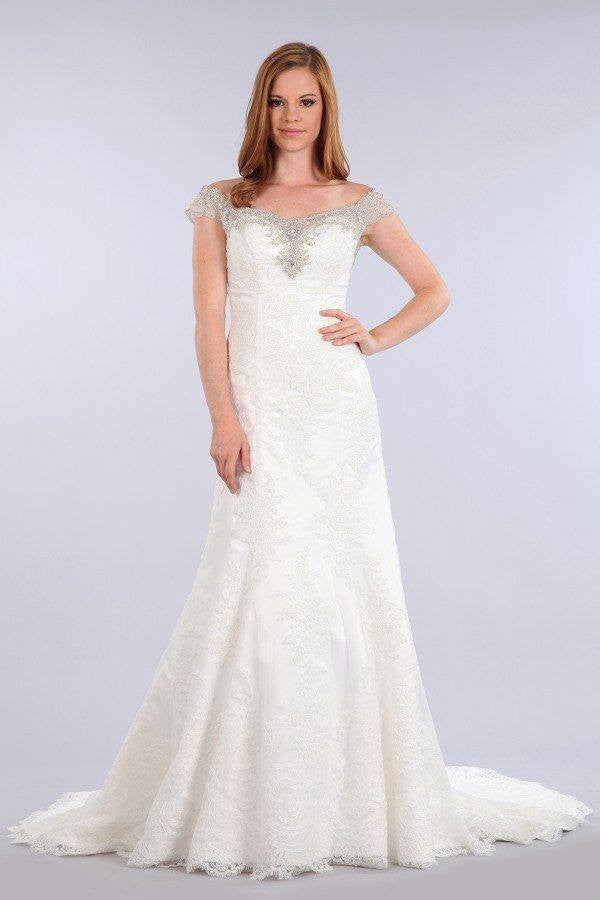 Stunning mermaid wedding dress-mt 225 Affordable wedding dress - Simply Fab Dress