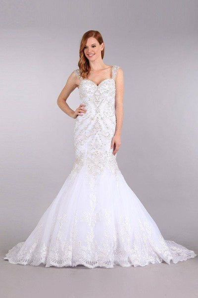 Stunning mermaid wedding dress-mt 231 Affordable wedding dress - Simply Fab Dress