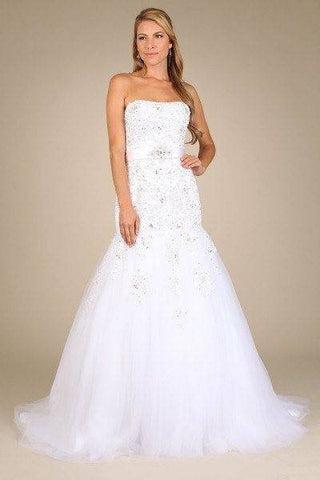 Stunning trumpet wedding dress-k 95076 Affordable wedding dress - Simply Fab Dress