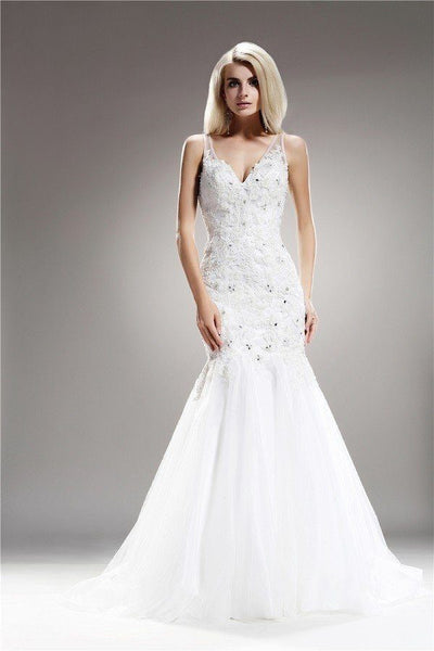 Sweetheart Mermaid Wedding Dress 108-AB6708 Wedding Dress Affordable wedding dress - Simply Fab Dress