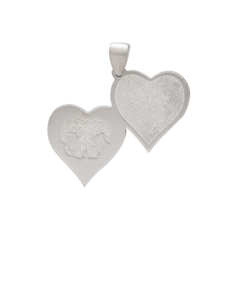 Double Heartfelt Charm Necklace
