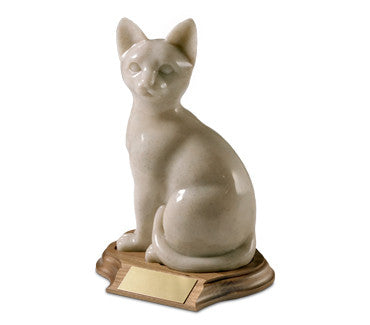 Sitting Ceramic Cat