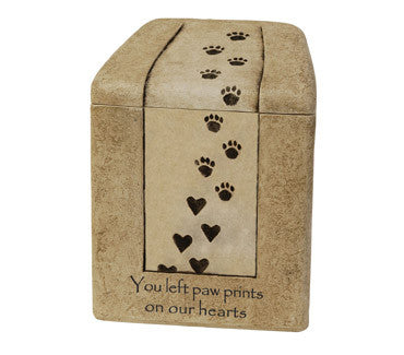 Cast Stone Heart Prints