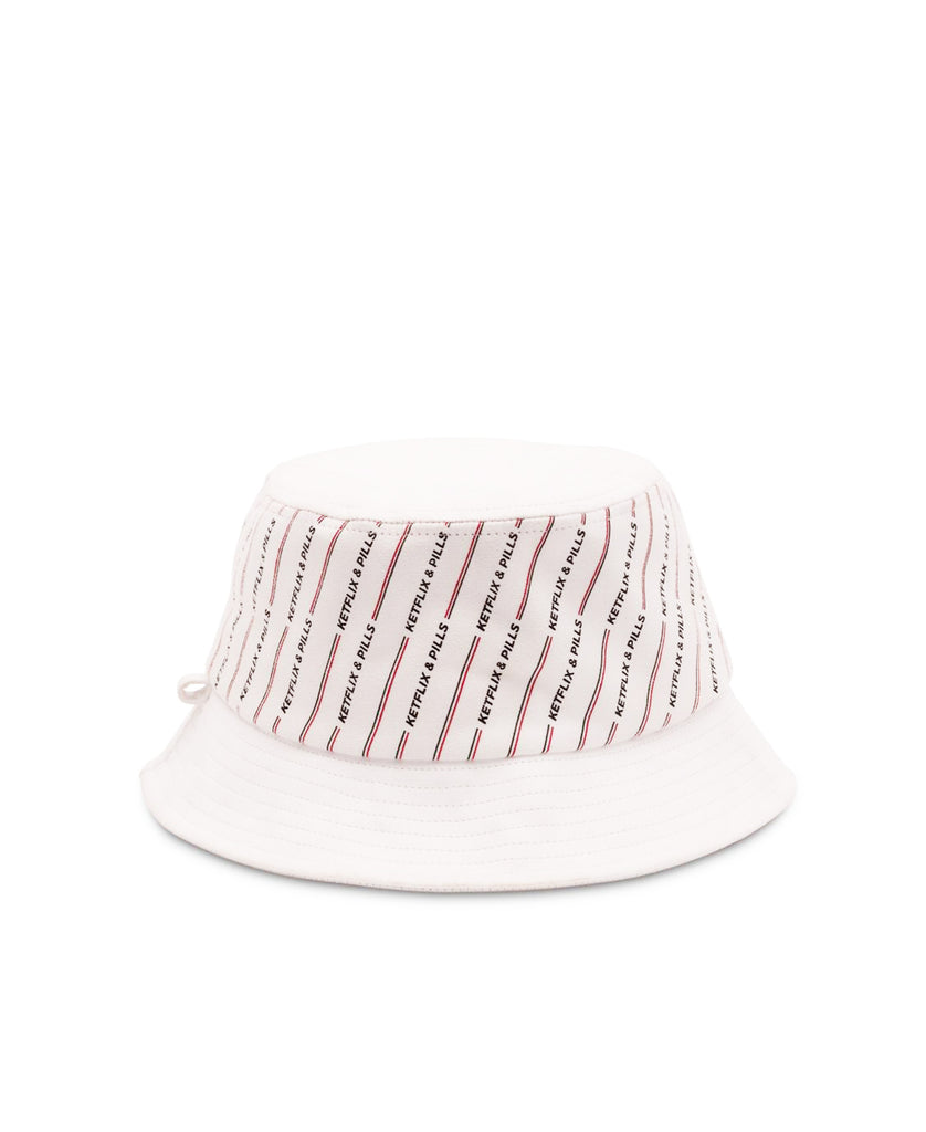 K P Suede Bucket Hat (White) – The KP Store 9052d6abb71