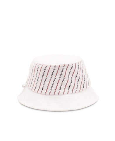 K&P Suede Bucket Hat (White)