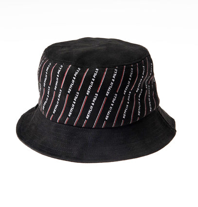 K&P Suede Bucket Hat (Black)