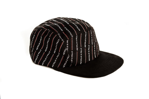 K&P Suede Baseball Hat (Black)