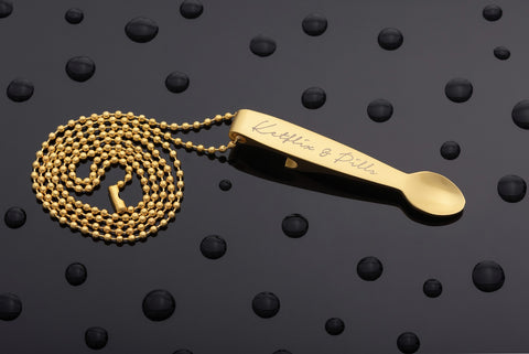 K&P Signature Spoon Necklace (Gold)