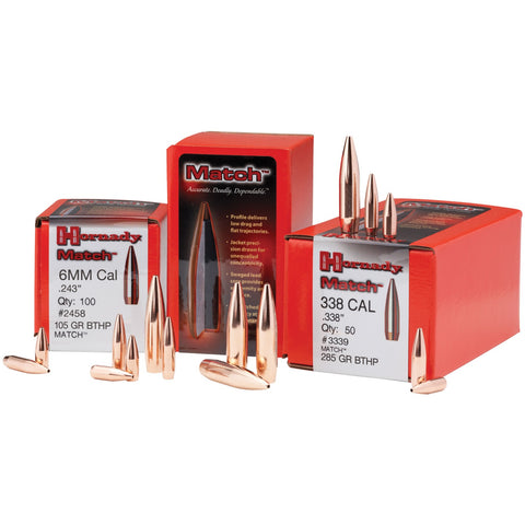 Hornady 6.8mm (.277) 110gr BTHP Bullets - 100ct
