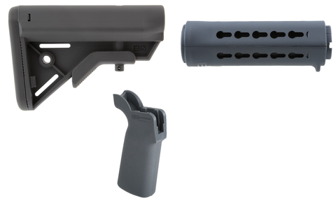 B5 Systems Furniture Kit - Wolf Grey, Carbine Length