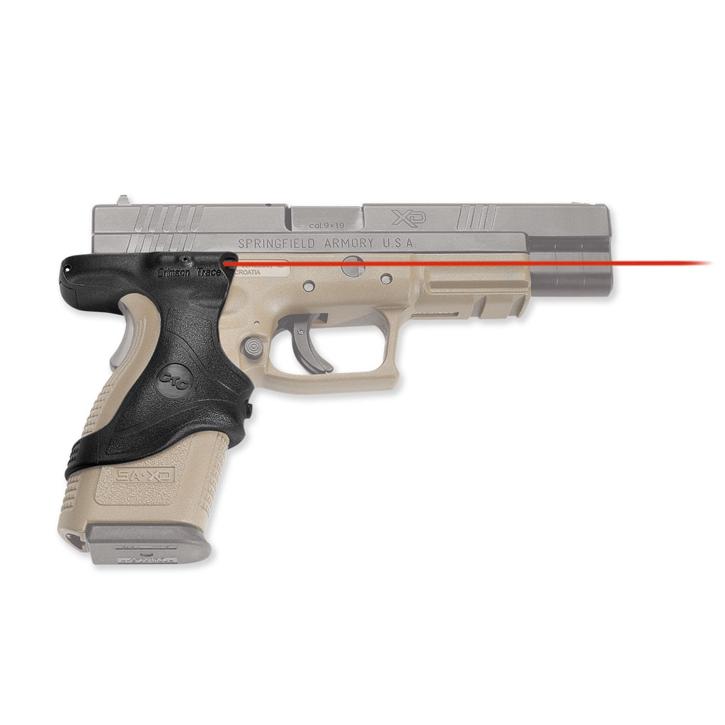 Crimson Trace Lasergrips for Springfield XD9 and XD40