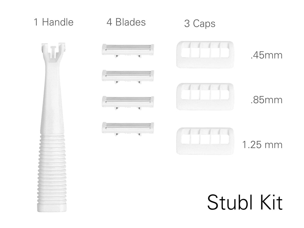 Stubl Non-Electric Stubble Razor Kit