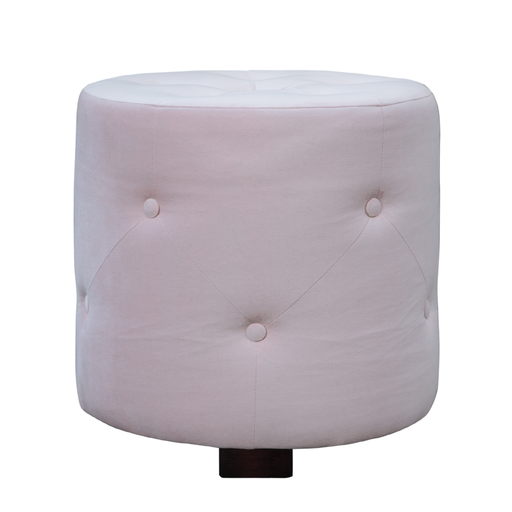 Hocker California 50cm, rosa