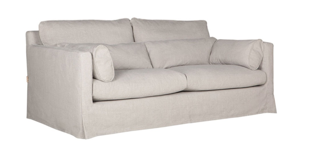 Sofa Fort Point mit Husse 262x100xH82cm