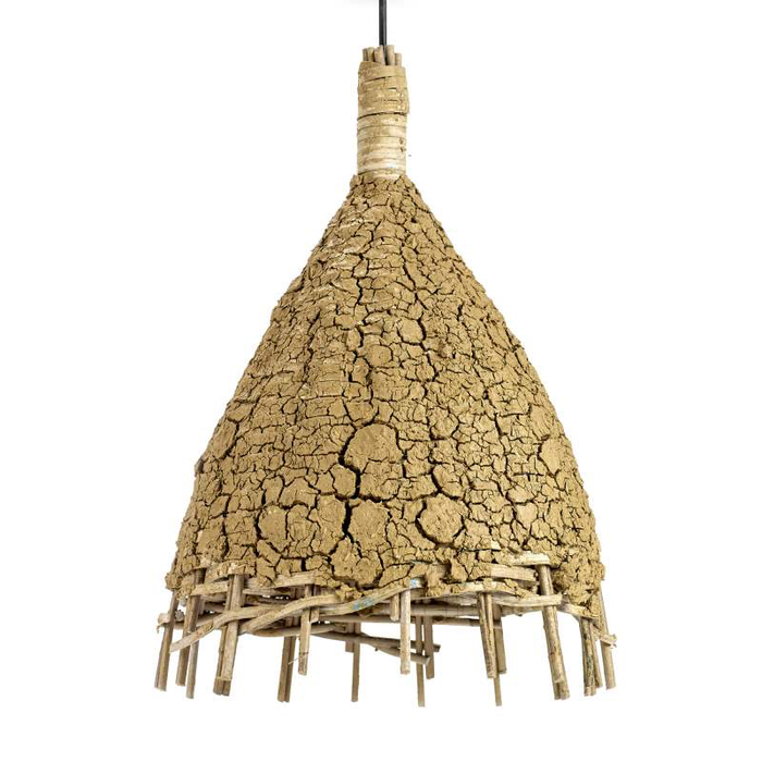 Rattan Lampe Extra Small Mud D:35cm