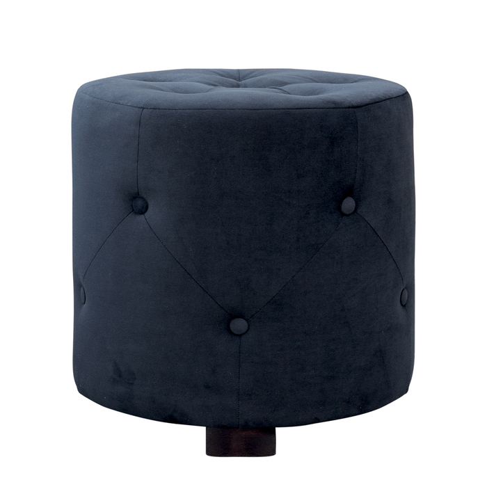 Hocker California D50cm, schwarz
