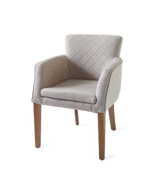 Waverly Armchair linen flax
