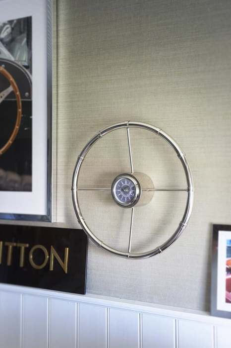 Racing Wheel Clock