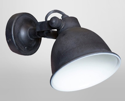 Maxim Cover Wall Lamp-Antique Black