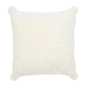 Cosy Faux Fur Pillow Cover 50x50 incl. pillow filling