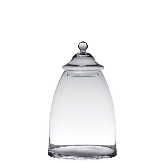 Glass Candy jar H28xD23