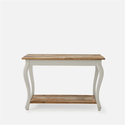 Driftwood side table 120x50x80h