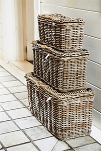 Rustic Rattan Classic RM Basket middle