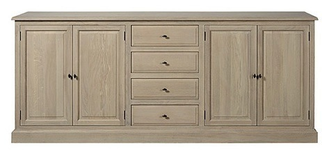 Cabinet Dressoir Landscape 240cm weathered Oak