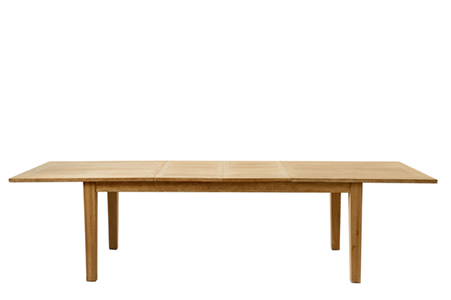 Beacon Hill Dining Table exendable 210/310x100cm, washed oak