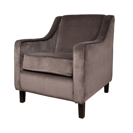 Town Sessel velour taupe
