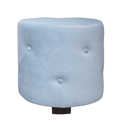 Hocker California D50cm, hellblau