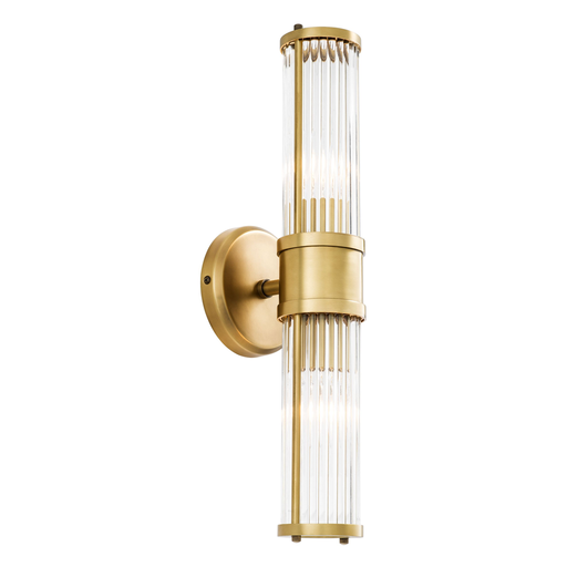 Wandlampe Claridges Double 12x13x46.5cm