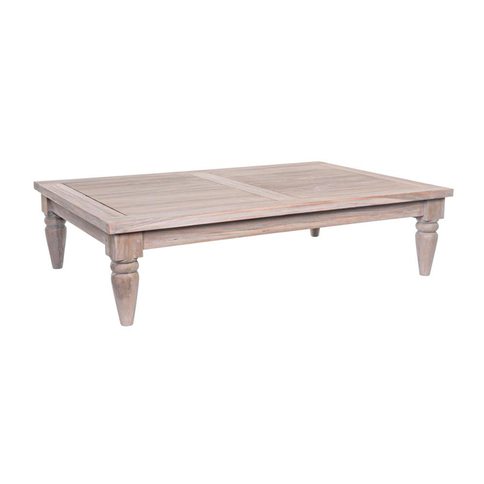 Long Beach Salontisch Teak 120x80H30cm