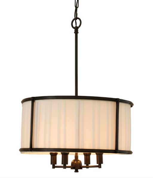 Chandelier Hammond gunmetal bronze finish
