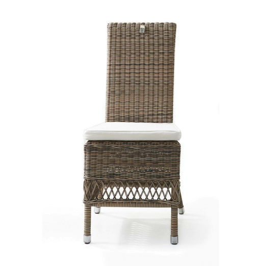 Rustic Outdoor Rattan St. Malo Chair