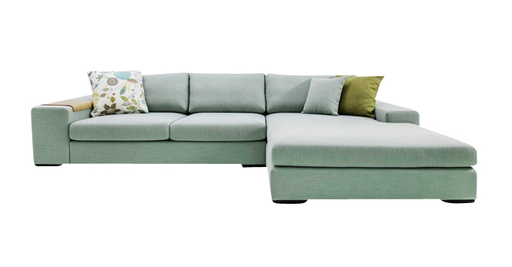 Sofa Lancaster 340x170xH73cm - Stoff Linea 20 anthracite Kat. A (Ausstellungsmodell)