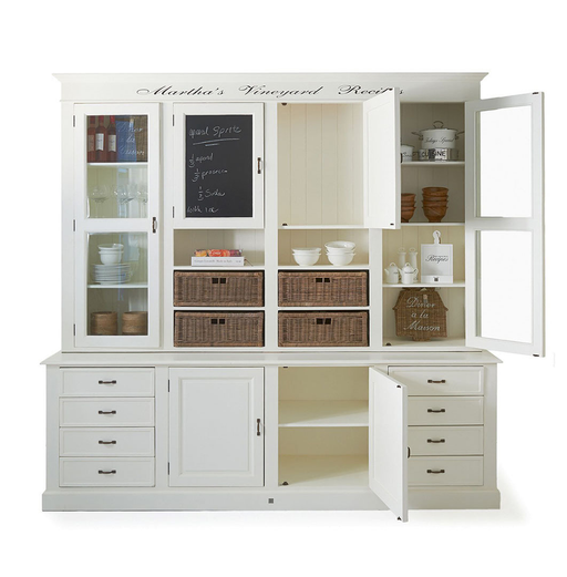 Martha's Vineyard Recipes Cabinet 240x60xH235cm