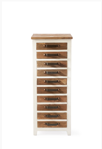 Redington Chest of Drawers 40x40x100cm hoch