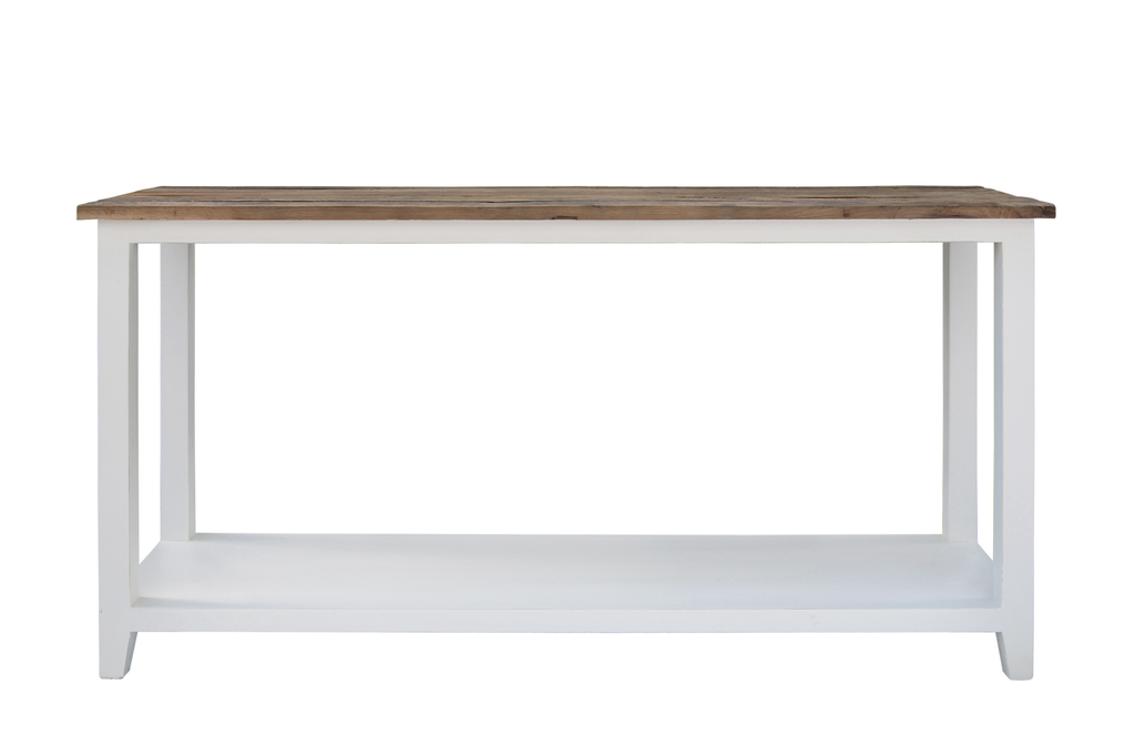 Brussel Sideboard white/elm 150x45xH80cm
