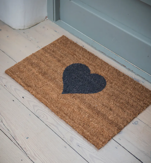 Doormat Heart small